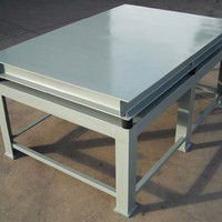Vibrating Table for Manufacturing Wet Cast Concrete Pavers image